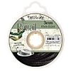 Rattail Cord 3mm 10 Yds With Re-useable Bobbin Black